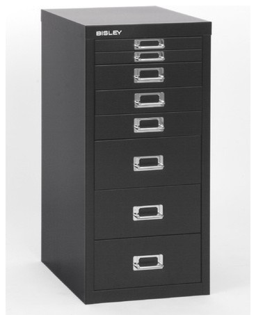 Eight-Drawer Under-the-Desk Steel Storage Cabinet modern-home-office ...