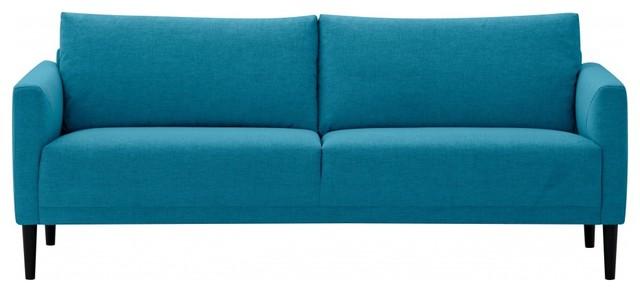 3 sitzer sofa renzo t rkis modern sofas by. Black Bedroom Furniture Sets. Home Design Ideas