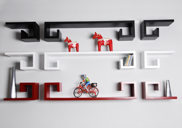 Designer wall shelves - Modern - Display And Wall Shelves - Orange County - by Justin Hou