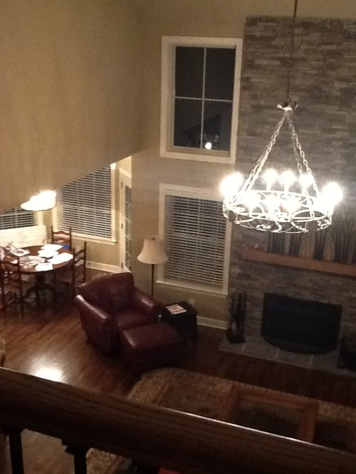 Two Story Great Room Furniture Layout