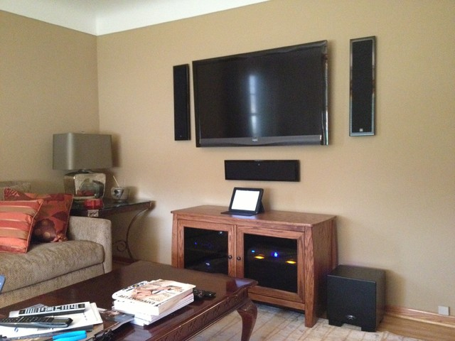 Hifi Living Room Contemporary Family Room Minneapolis By Lelch Audio Video