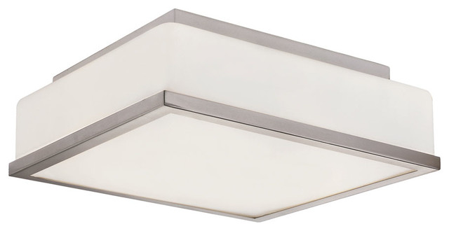 Frost Square Flush Mount Ceiling Modern Flush Mount Ceiling Lighting By