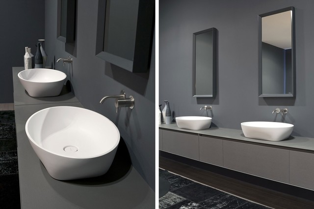 SOLIDEA top mount sink - Modern - Bathroom Sinks - miami - by ...