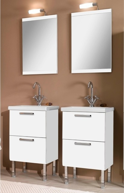 Dual His And Her Bathroom Vanities Contemporary Bathroom Vanities Philadelphia By