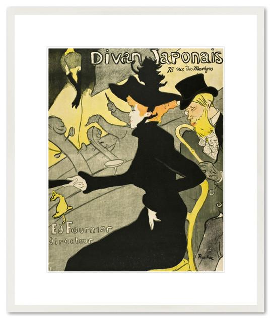 Divan japonais eclectic artwork by 1000 museums for Divan japonais