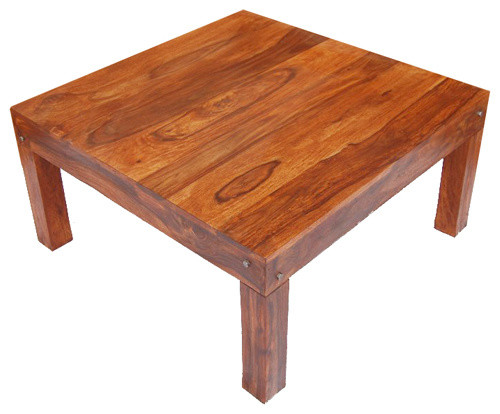 Coffee Tablesrustic Hand Made Cocktail Sofa Solid Wood Square Coffee Table Contemporary