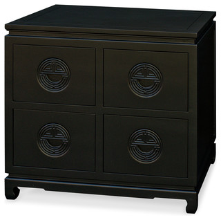 Elmwood Longevity Design File Cabinet Asian Accent Chests And
