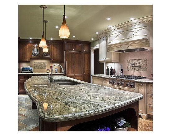 kitchen design ideas remodels photos with cement tile backsplash