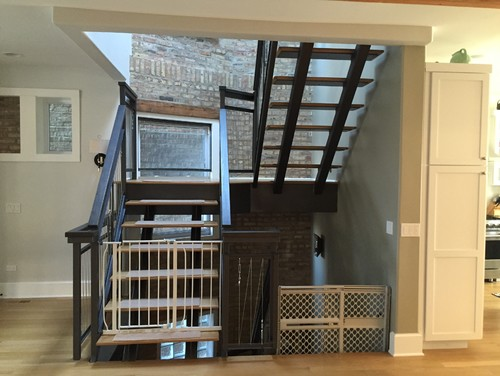 Baby Gates For Open Stairs Steal Banister