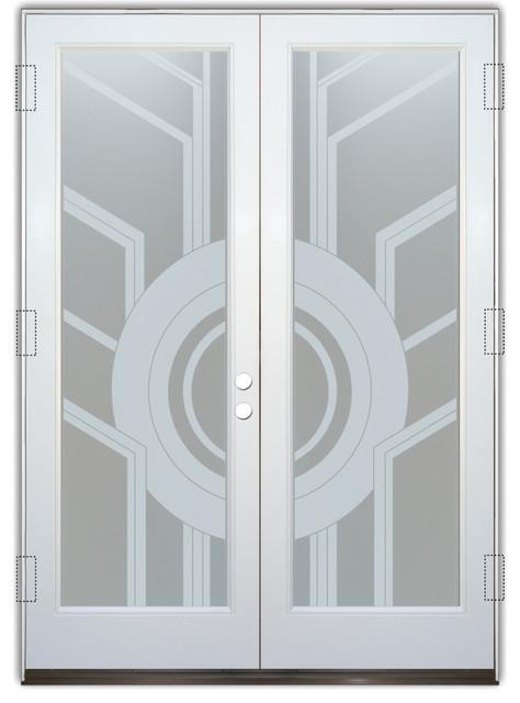 Glass front entry door sans soucie art glass sun odyssey for Art glass windows and doors