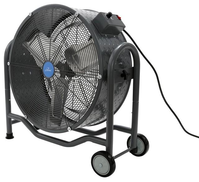 Bldc Air Circulator High Velocity Floor Fan 24 In 5800