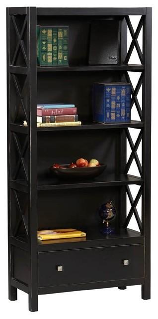 Linon Home Decor Anna Collection 5 Shelf Bookcase X