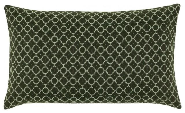 kissenbezug leonora 30x50 cm gr n bauhaus look. Black Bedroom Furniture Sets. Home Design Ideas