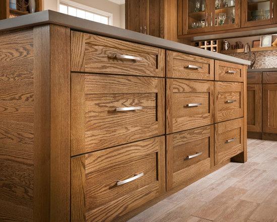 Mission Oak Tawny - Lowe's, Cabinets, Kitchen, Shenandoah Cabinetry,