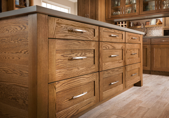 Mission Oak Tawny - Eclectic - Other - by Shenandoah Cabinetry