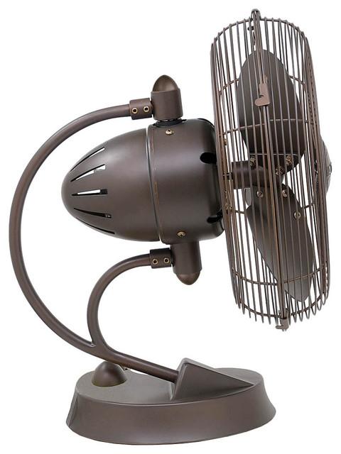 Cinni - Desk Fan   Atlas Fans - Modern - Electric Fans - by LightKulture.com