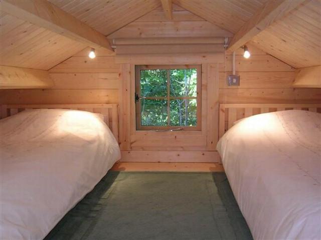 small log cabin kit interior photos craftsman