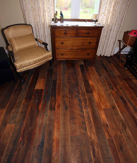 Mink hollow reclaimed wood floor rustic new york for Reclaimed wood new york