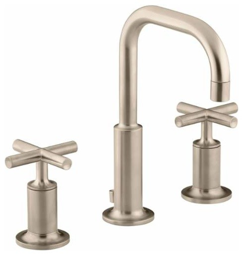 Kohler K 14406 3 Purist Widespread Bathroom Faucet Modern Bathroom Sink F