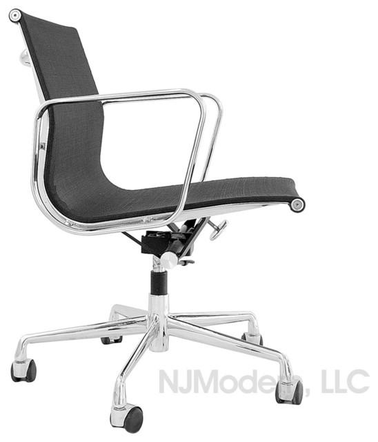 Aluminum group mesh chair modern office chairs by njmodern com