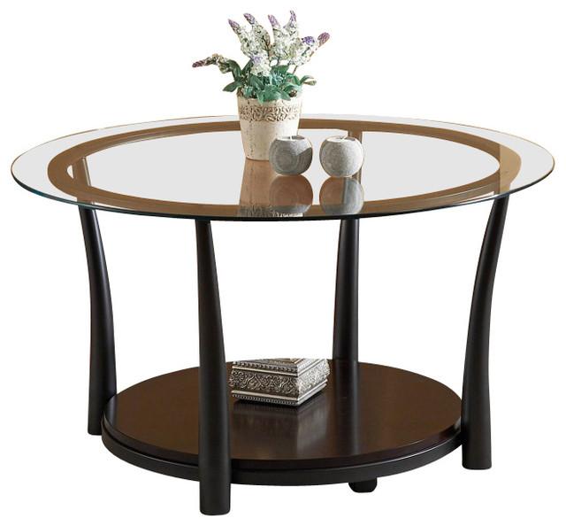 Homelegance Laurie 3 Piece Coffee Table Set In Black Metal