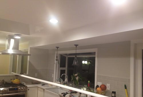 Soffit Paint To Match Walls Or Ceiling