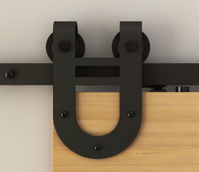 Many styles of soft close barn door hardware - by Viba Hardware Inc.