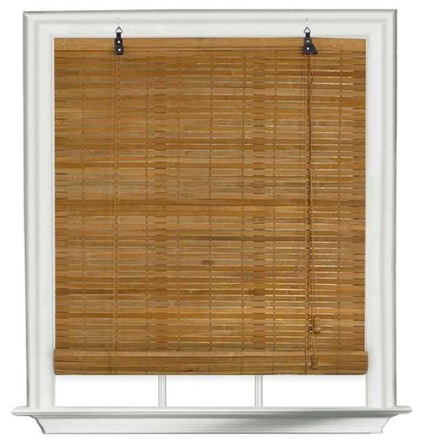 Venezia flatstick roll up window shade in spice finish 36 Home decorators vertical blinds