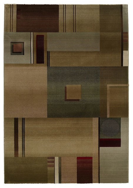 Contemporary generations hallway runner 2 39 3 x7 39 6 runner for Contemporary runner rugs for hallway