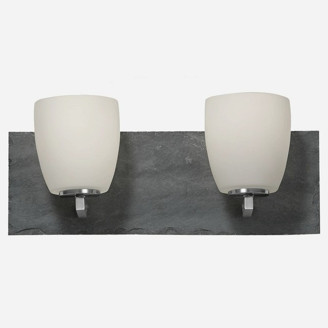 Murray Feiss Lighting Vs19202 Bs Gsl Quarry Two Light Bath Vanity Strip Contemporary