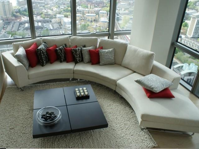 Interior design service for a living room portfolio for Interior design services london