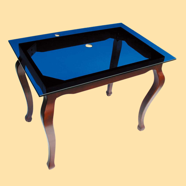 Bathroom Sink Table : ... Sink Table Blue - Contemporary - Bathroom Sinks - by The Renovators