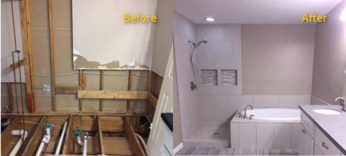 Houston Tx Bathroom Water Loss Rebuild