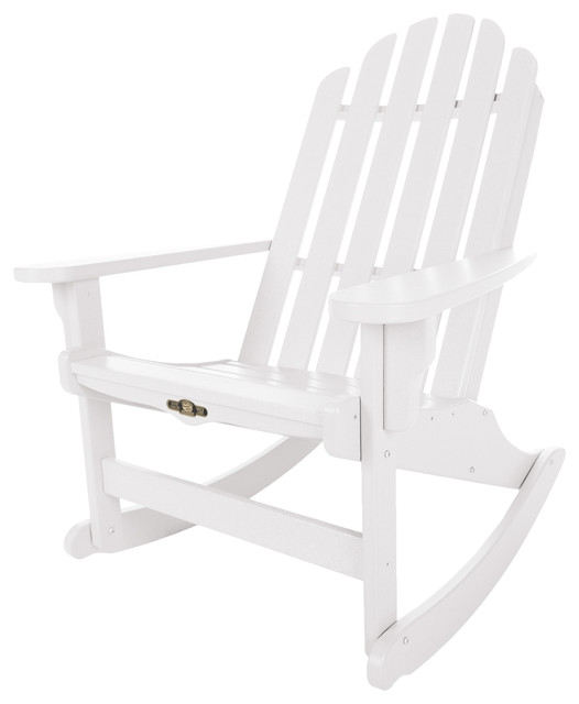 Essential Adirondack Rocker Contemporary Outdoor Rocking Chairs by Hamm