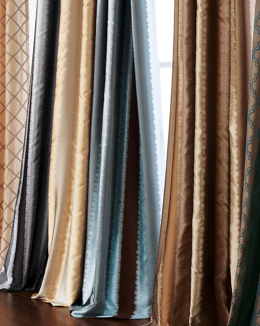 Each 108 l curtain contemporary curtains by horchow for 108 window treatments