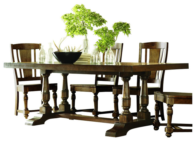 Riverside Furniture Newburgh Rectangular Dining Table in  : transitional dining tables from houzz.com size 640 x 460 jpeg 83kB