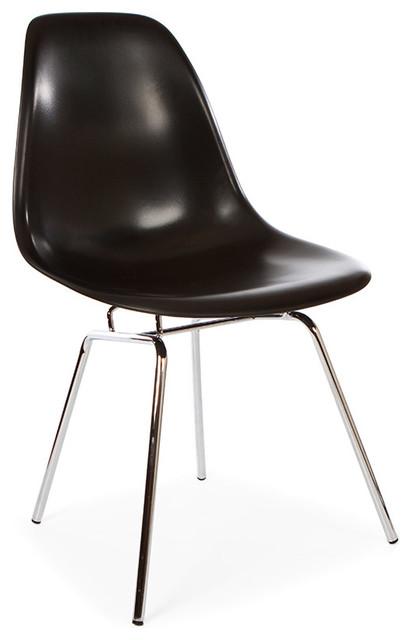 Mid Century Retro DSX Metal Leg Dining Lounge Side Chair