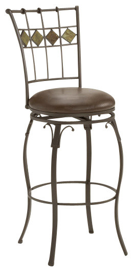 Hillsdale Lakeview Swivel 30 Inch Barstool Traditional