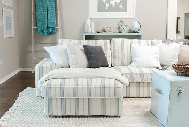jenna sue living room rejuvenation bord de mer tissu d 39 ameublement melbourne par. Black Bedroom Furniture Sets. Home Design Ideas