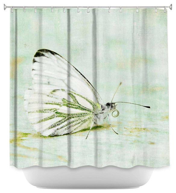 shower curtain unique from dianoche designs butterfly