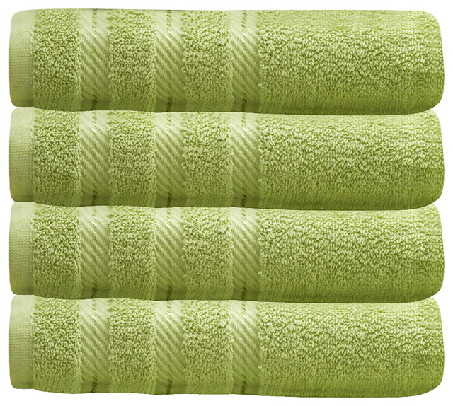 Hotel Collection Finest Bath Towels: Antalya Luxury Turkish Hotel Collection Towels, Set Of 4