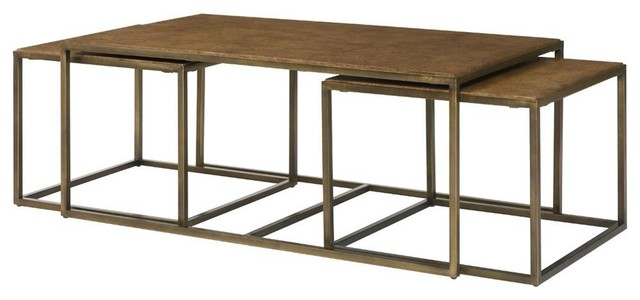 Pc Nesting Cocktail Table Contemporary Coffee Table Sets