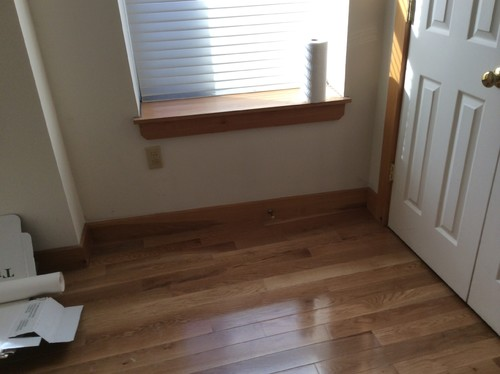 Paint Wood Baseboard Window Sill And Door Frames