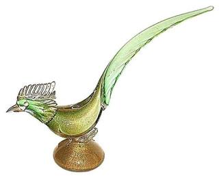 Venetian Glass Rooster - $400 Est. Retail - $259 on Chairish.com