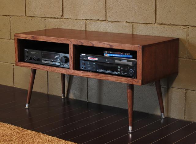 mid century modern tv stand mayan mocha modern furniture san diego by woodwaves inc. Black Bedroom Furniture Sets. Home Design Ideas