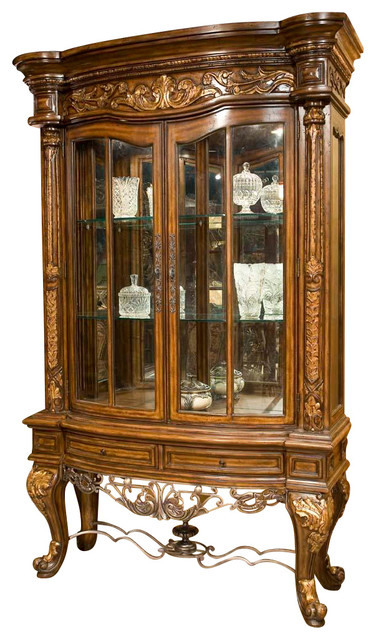 Regalia Display Cabinet - Traditional - China Cabinets And ...