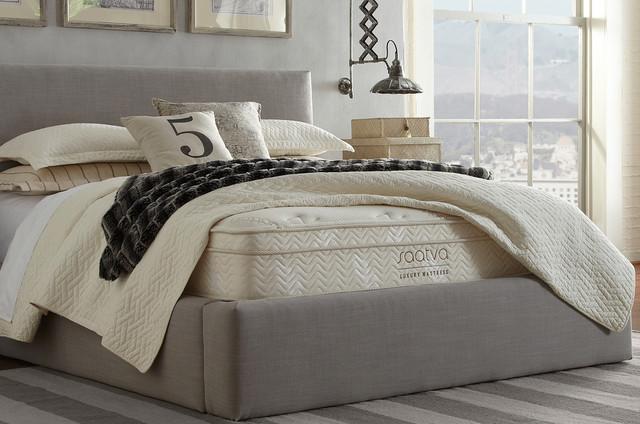 saatva luxury firm queen size mattress modern mattresses by saatva luxury mattress. Black Bedroom Furniture Sets. Home Design Ideas