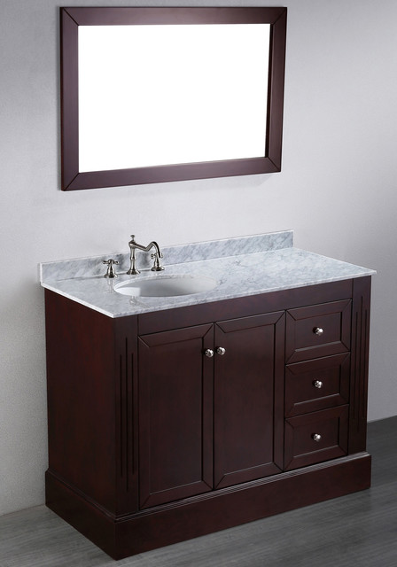 45 inch bosconi contemporary single vanity contemporary bathroom vanities and sink consoles