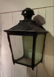 antike wandlaterne mid century wandbeleuchtung von. Black Bedroom Furniture Sets. Home Design Ideas