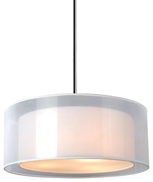 Phoenix Pendant White 15 Modern Pendant Lighting By Bromi Design